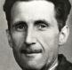Bild på George Orwell