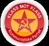 Kommunistiska partiets logo - klass mot klass
