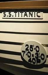 Bild på en av Titanics livbåtar