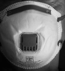 Bild på mask med ventil